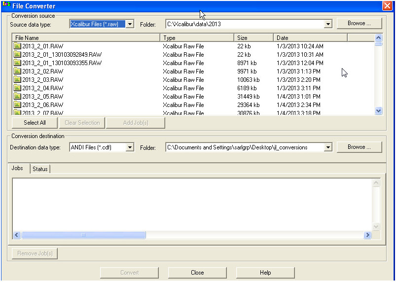 File Conversions and Data Intechange | A